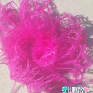 Bow Supplies Curly Ostrich Puff, 5-7inch Curly Full Ostrich Feather Puff, Curly Ostrich Puff