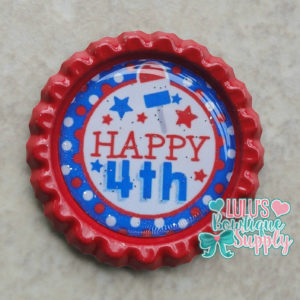 Finished Bottle Caps, Bottle Cap Images, 4th of July Bottle Cap Images